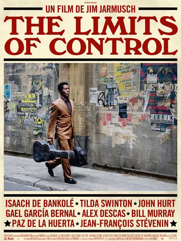 The Limits of Control affiche