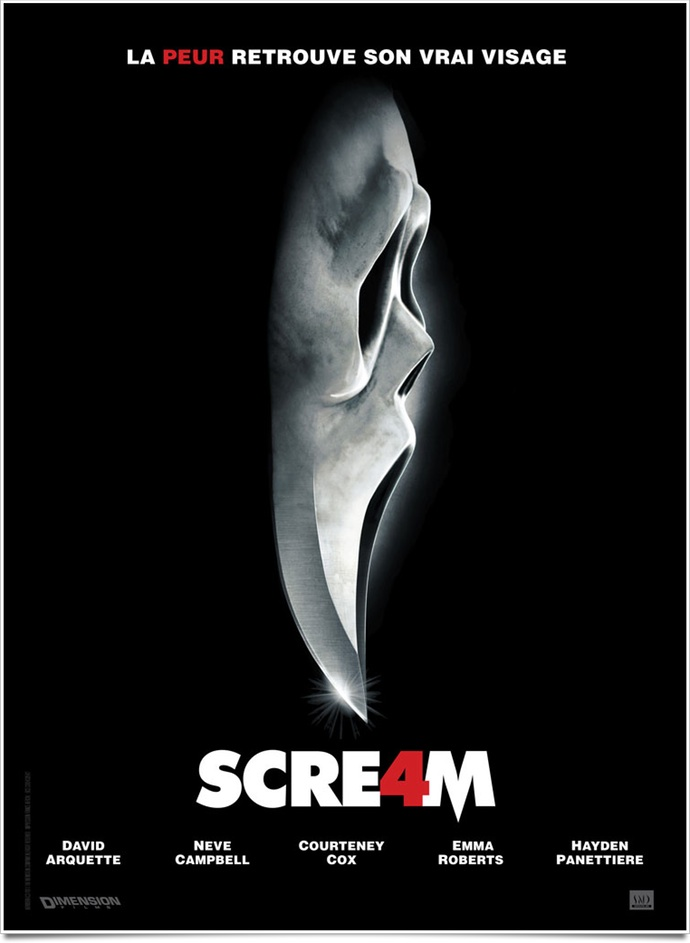 Scream 4 wes craven