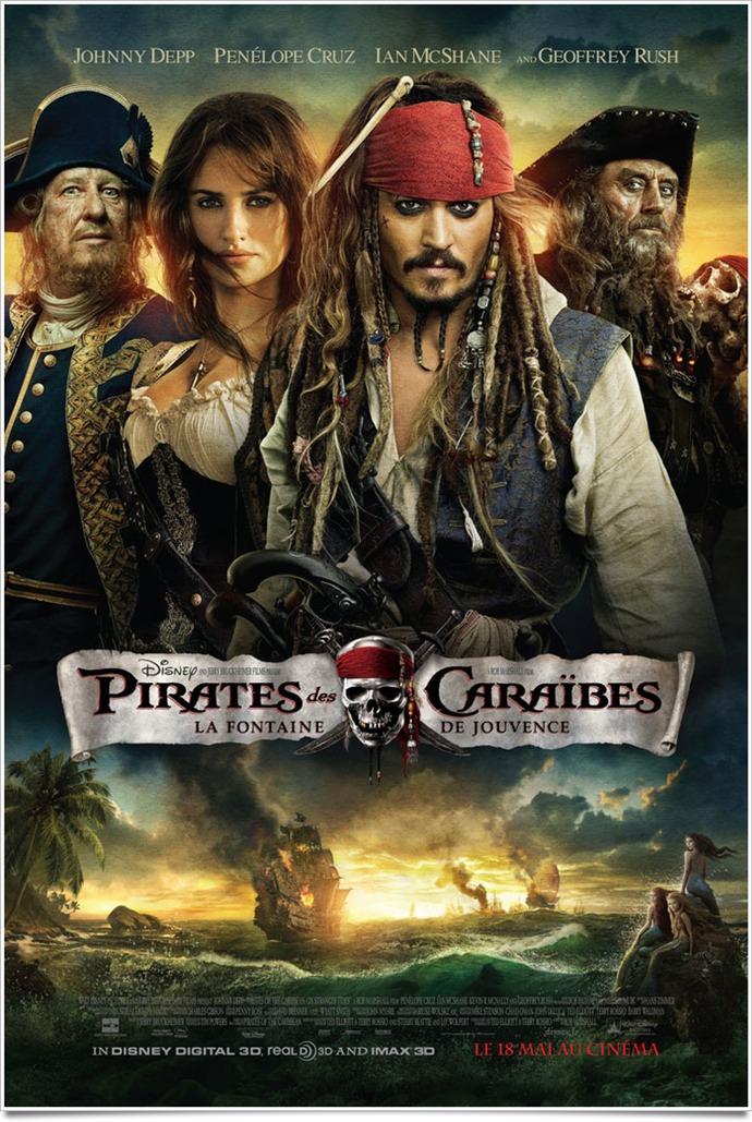 Pirates caraibes 4 marshall