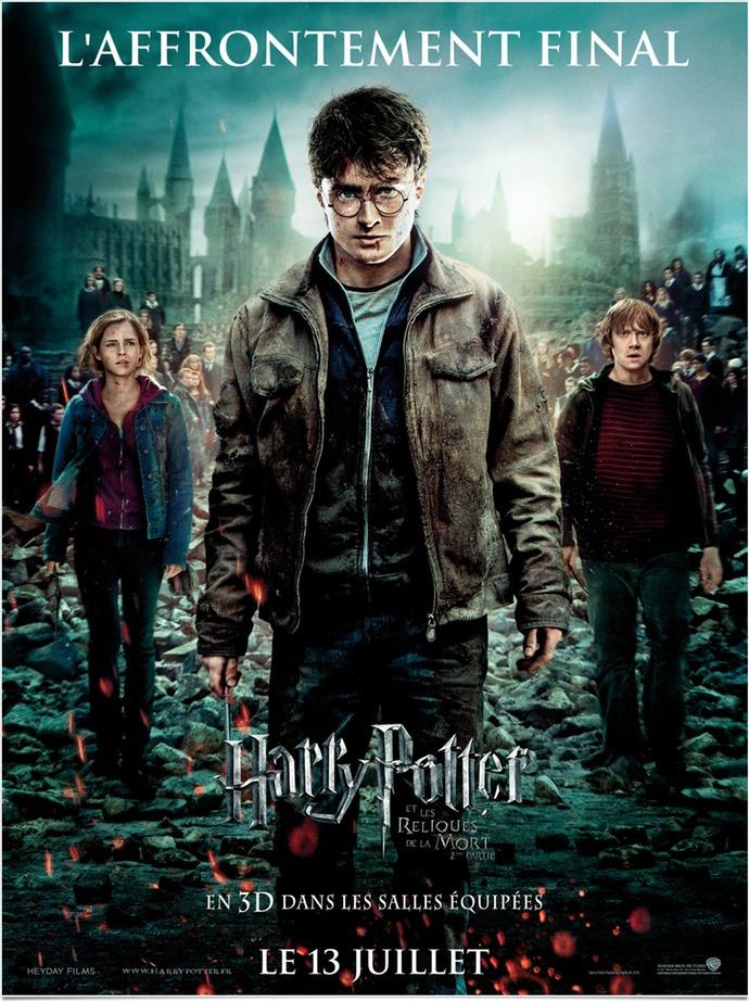 Harry potter reliques mort partie 2 affiche
