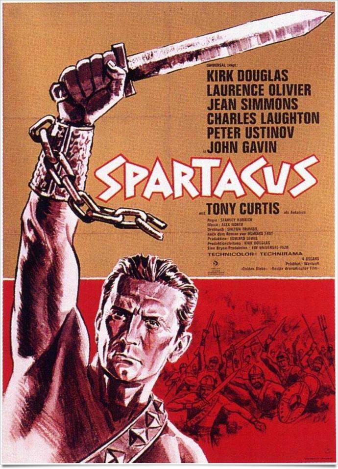 Stanley kubrik spartacus