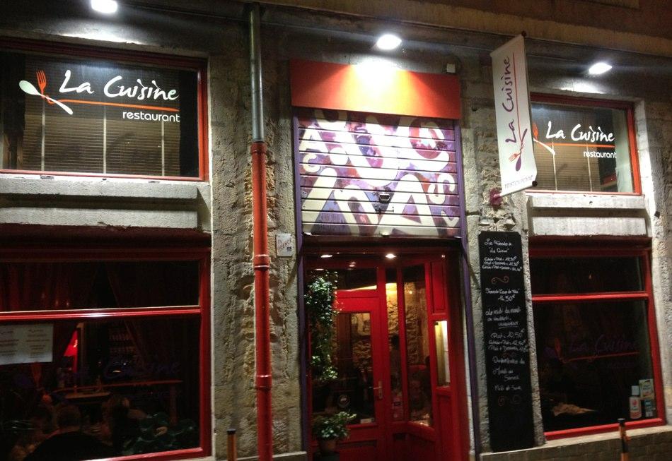 La Cuisine, Lyon  À voir et à manger