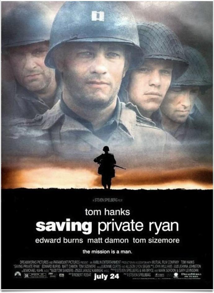 Spielberg sauver soldat ryan