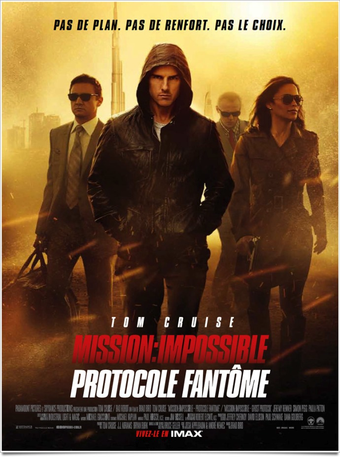 Mission impossible protocole fantome bird