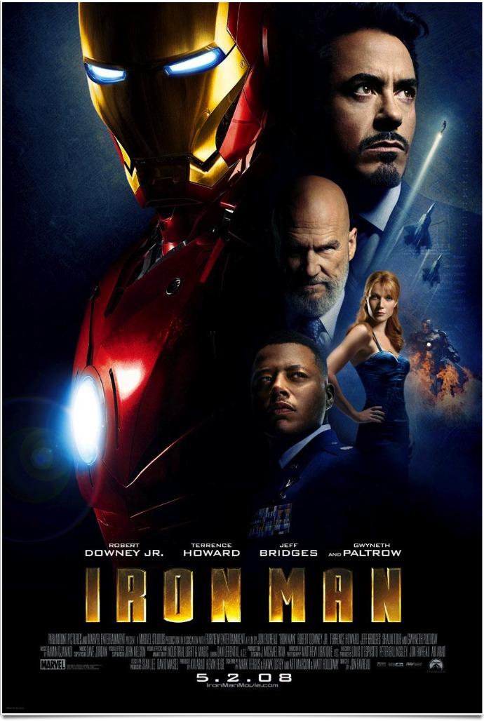 Iron man john favreau