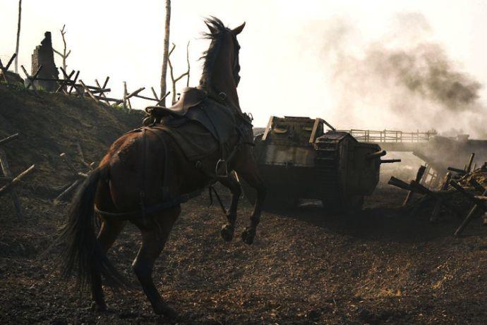 Spielberg cheval guerre
