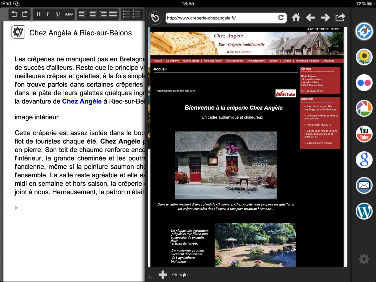 Blogsy ipad