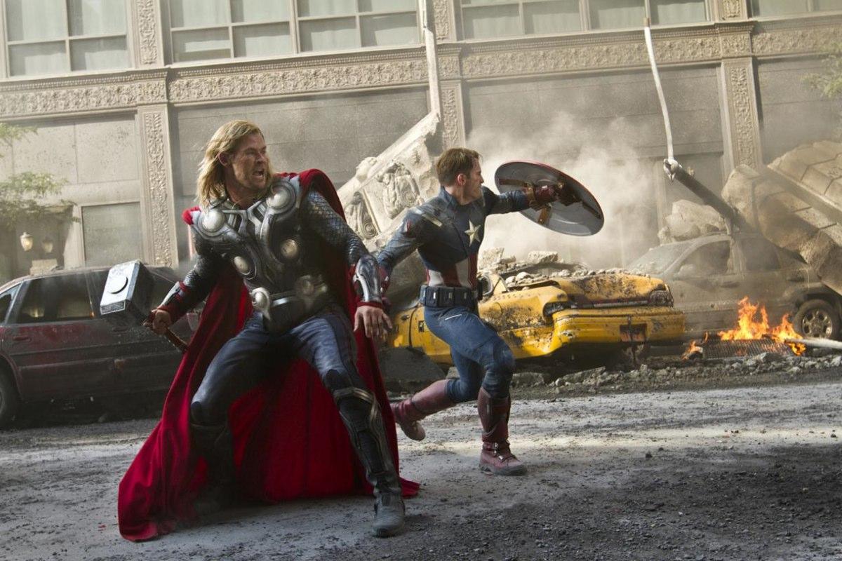 Thor captain america avengers whedon