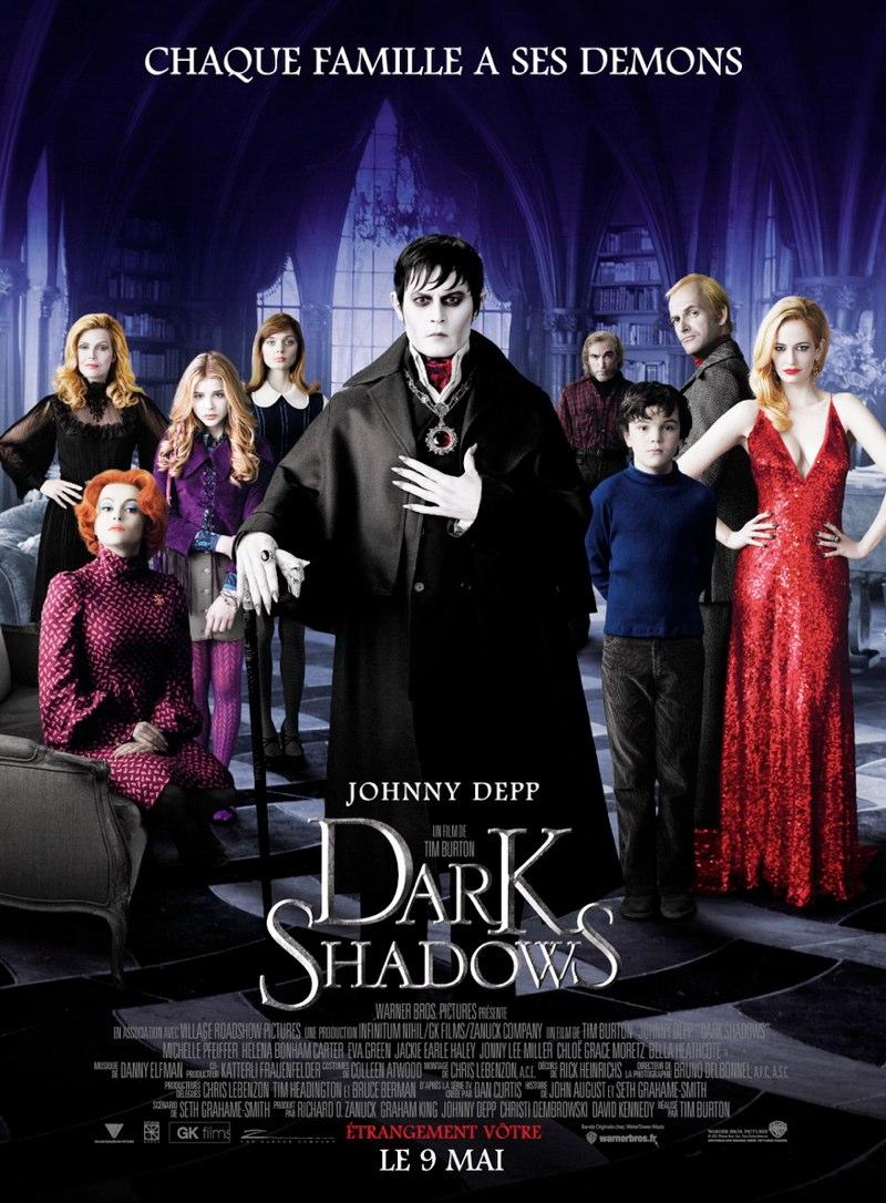 Dark shadows burton