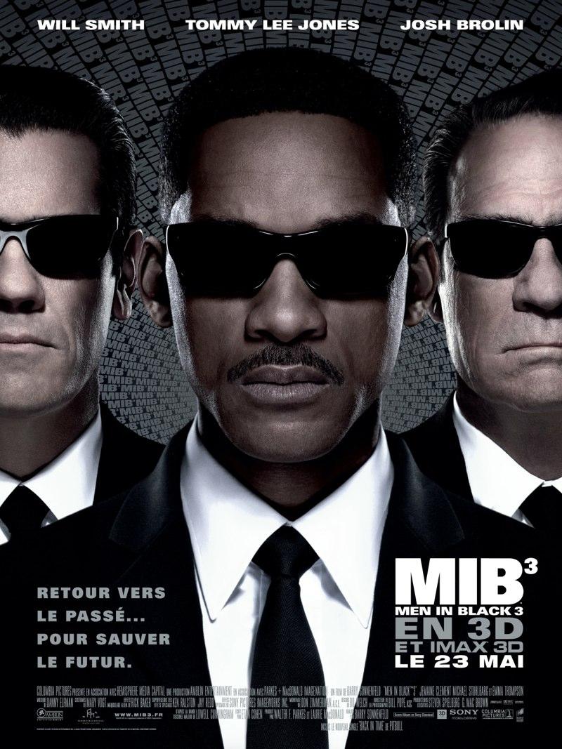 Men in black 3 sonnenfeld