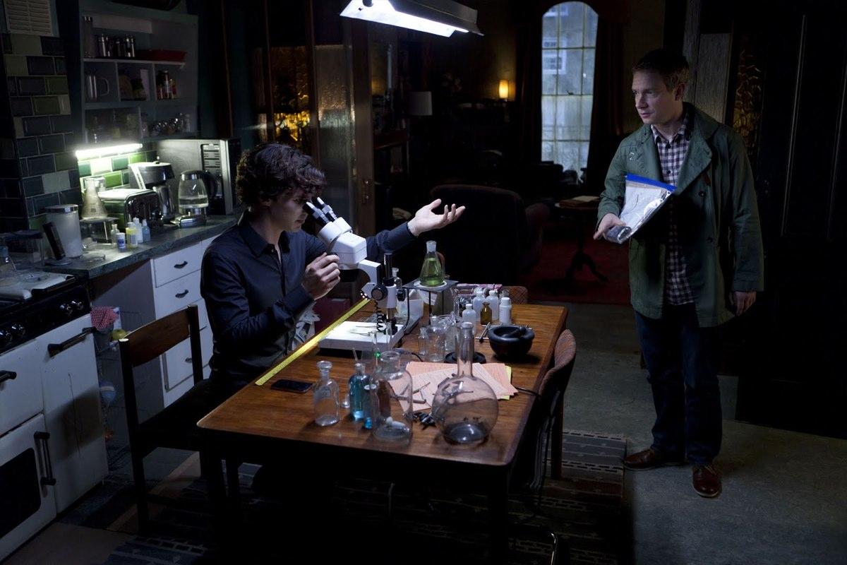Sherlock bbc cumberbatch freeman