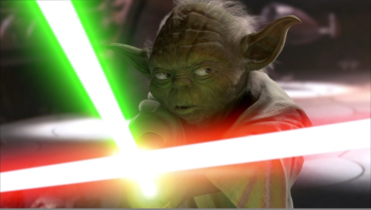 Star wars attaque clones yoda