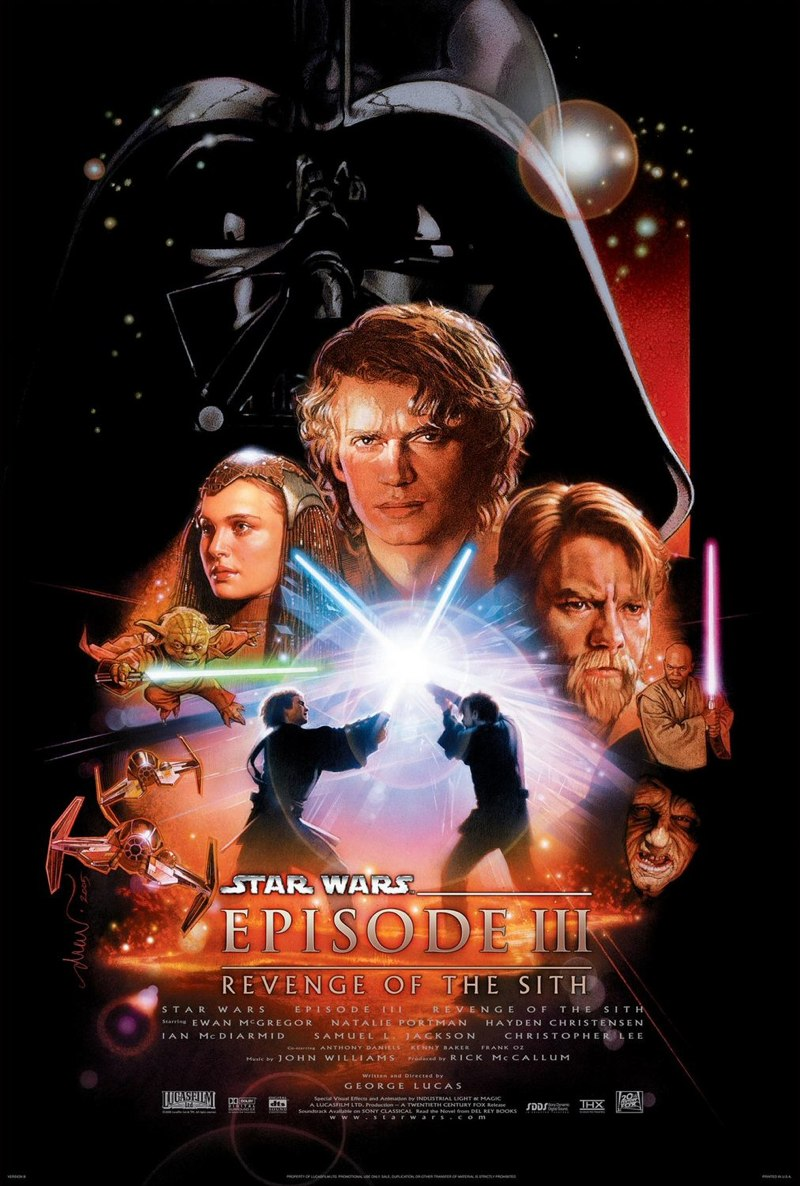 Star Wars, Épisode III : La Revanche des Sith , George Lucas