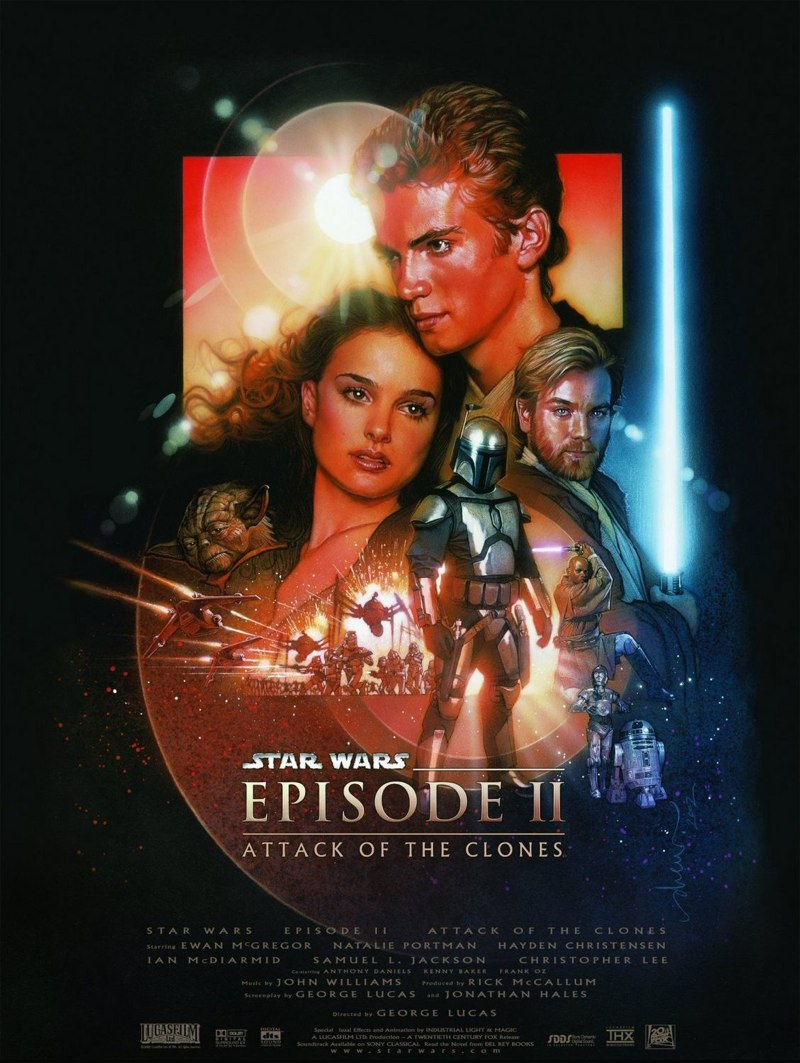 Star wars episode II attaque clones lucas