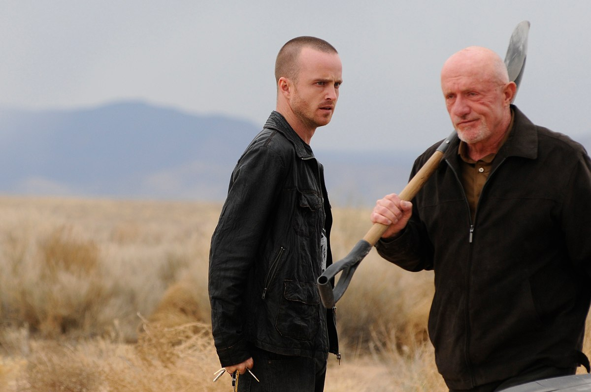 Gilligan breaking bad aaron paul