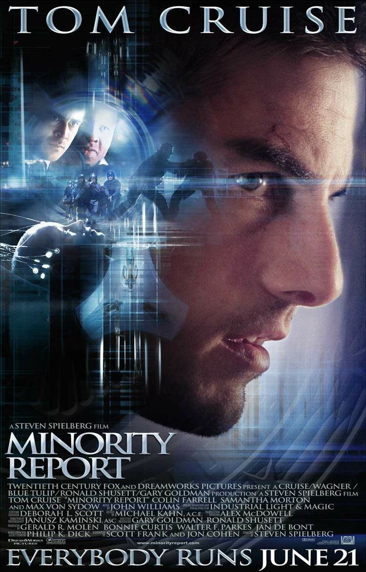 Minority report spielberg