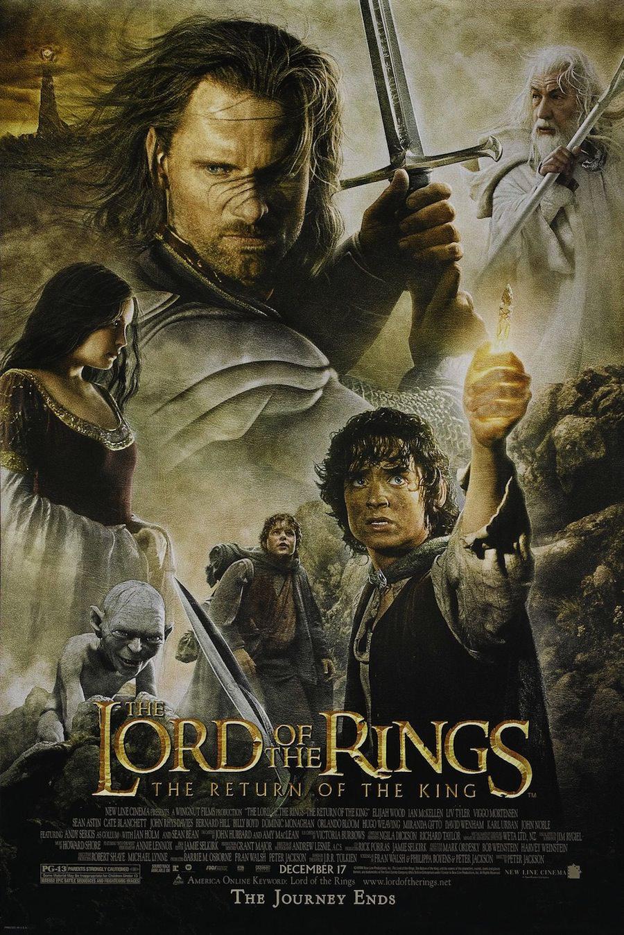 Seigneur anneaux retour roi peter jackson