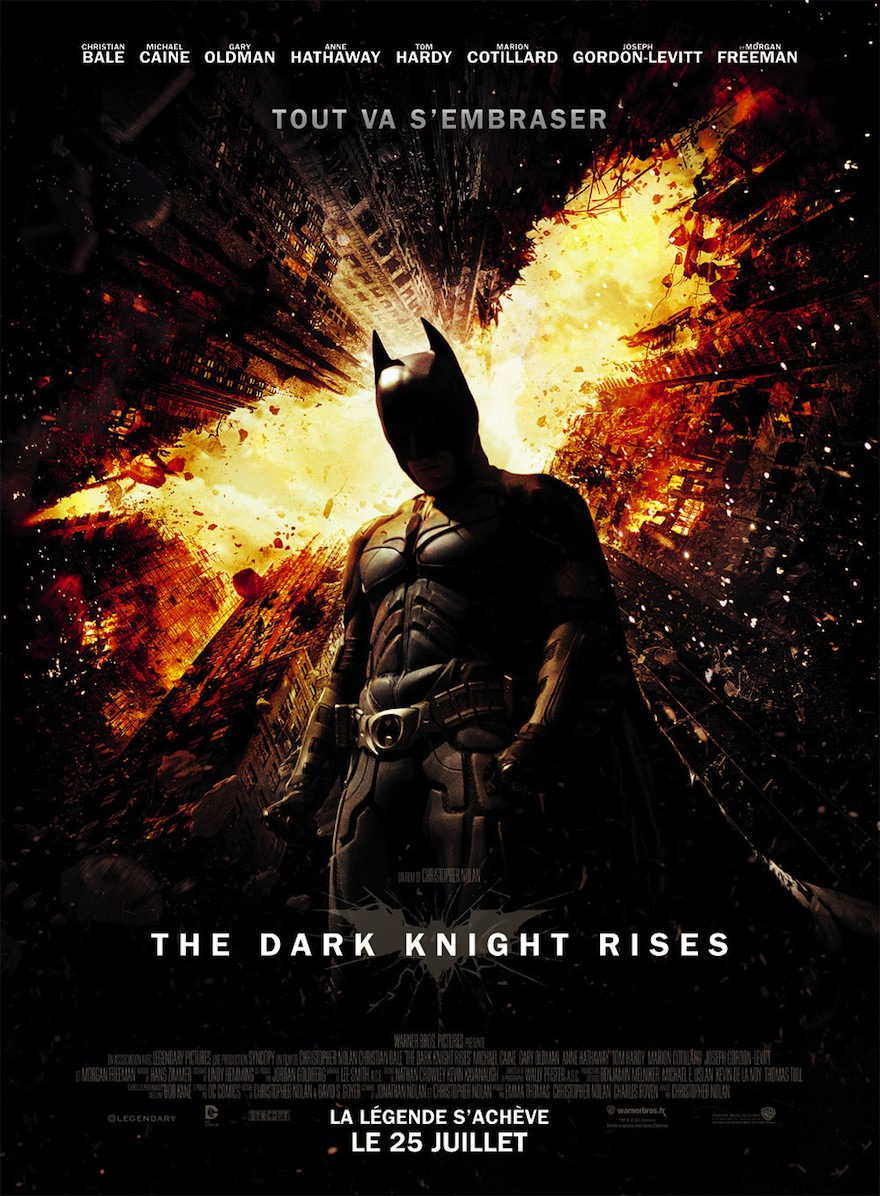 The dark knight rises nolan