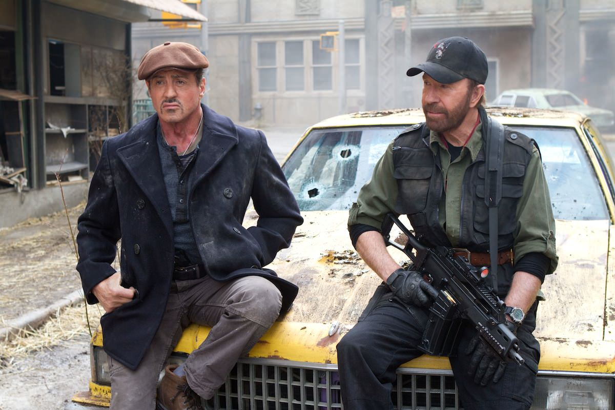 Expendables 2 norris stallone