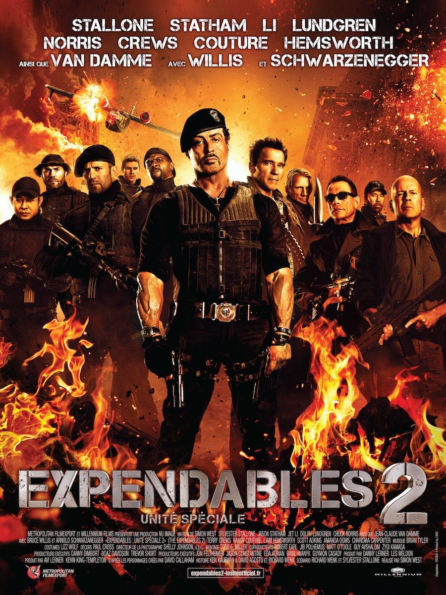 Expendables 2 unites speciales west