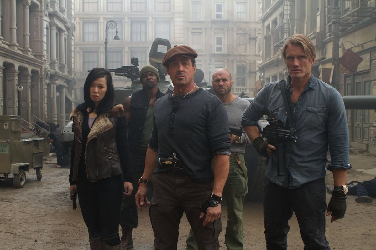 Expendables 2 west