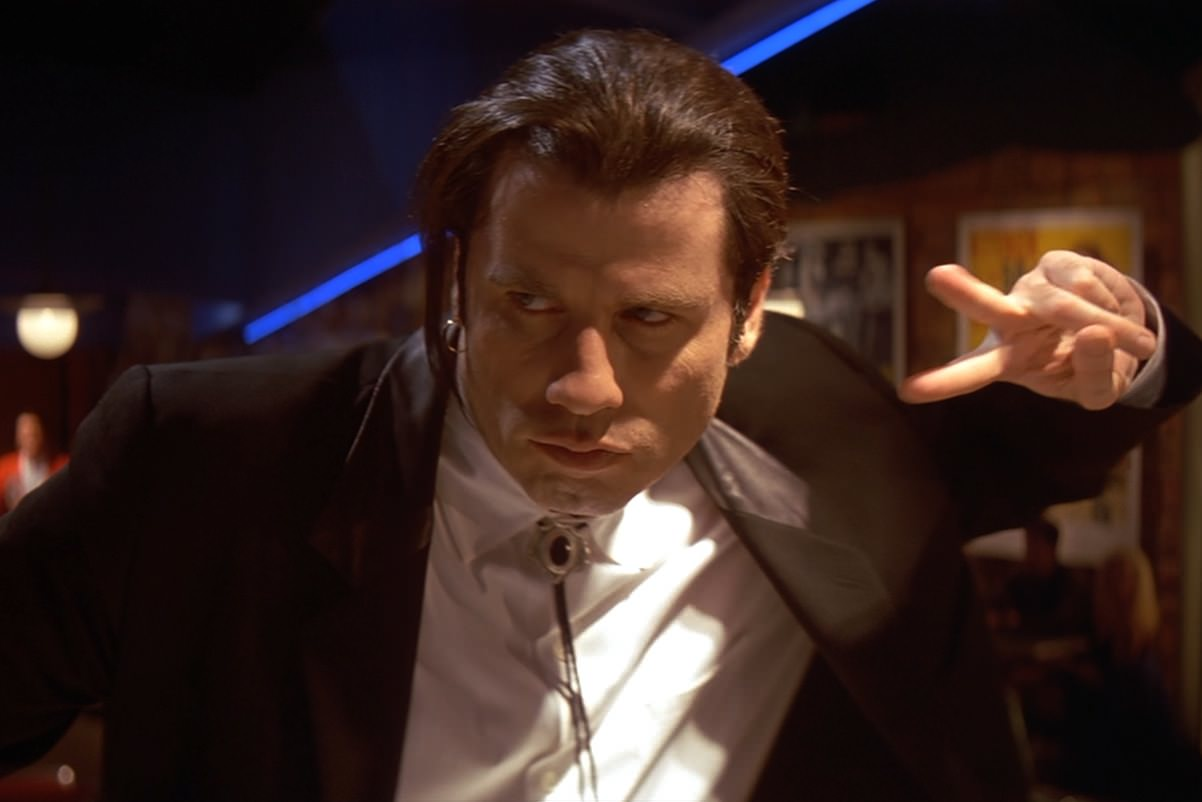 Pulp fiction travolta