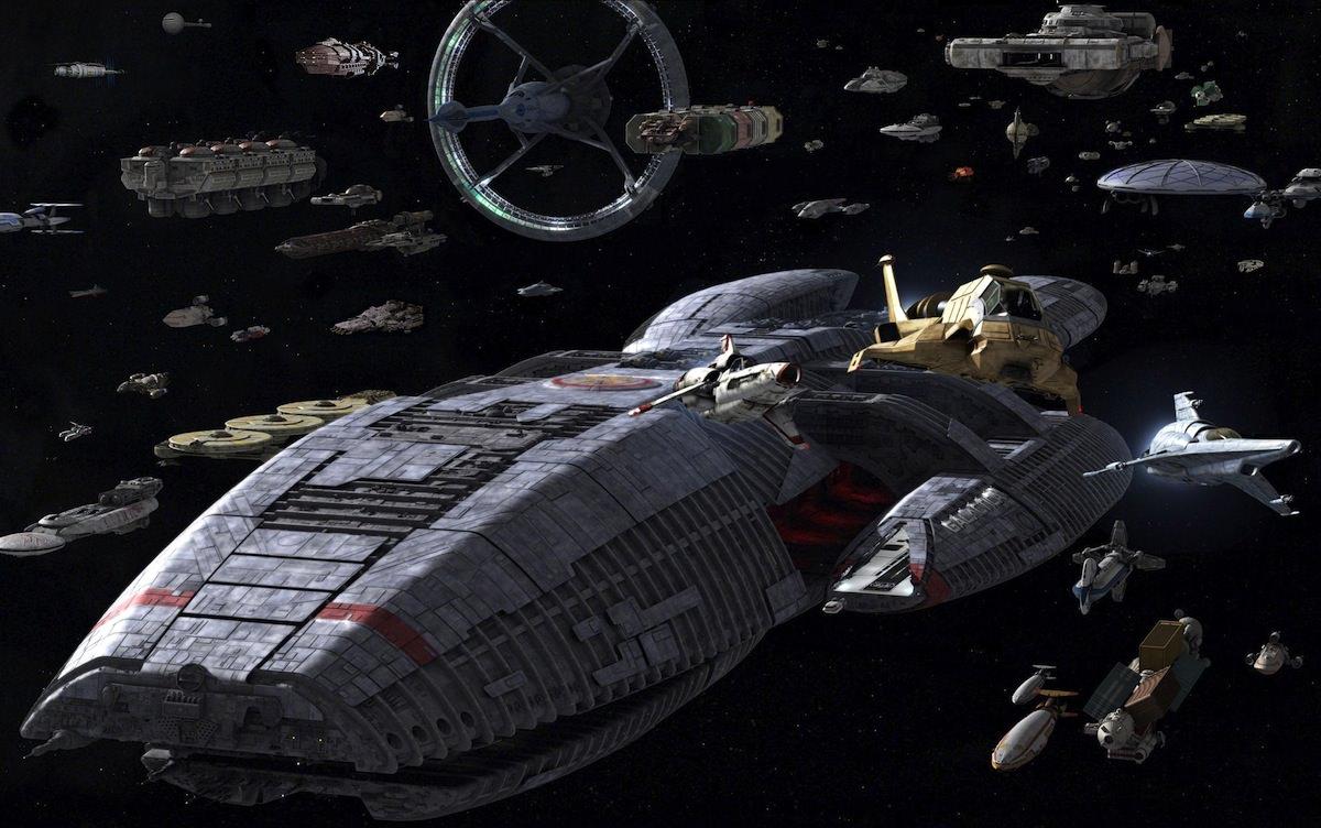 Battlestar galactica flotte