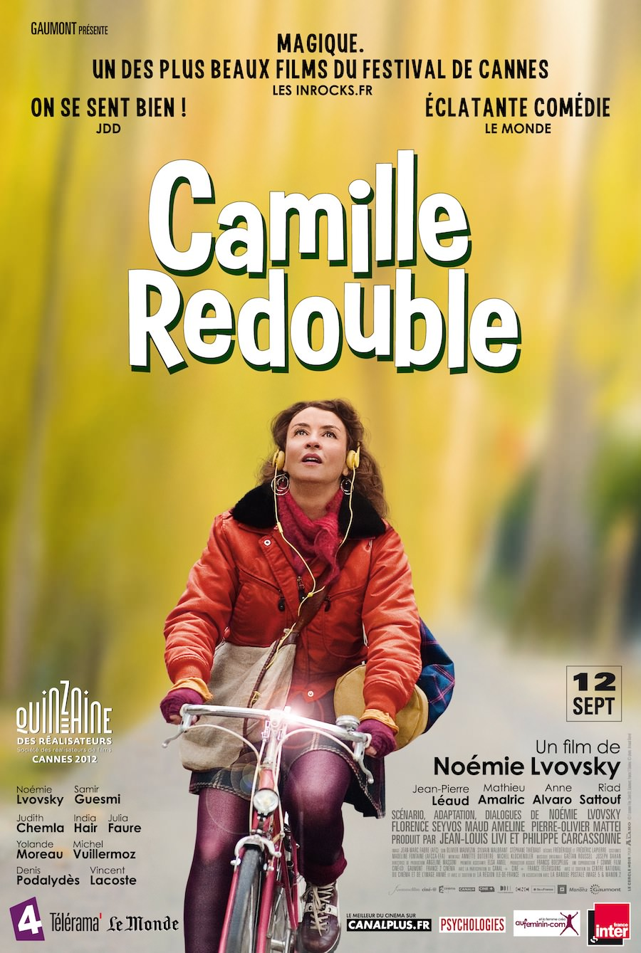 Camille redouble noemie lvovsky