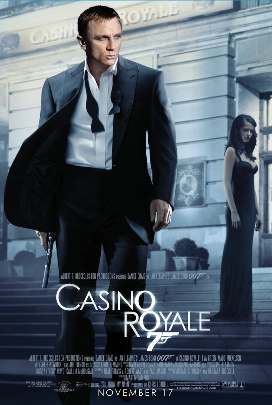 James bond casino royale martin campbell