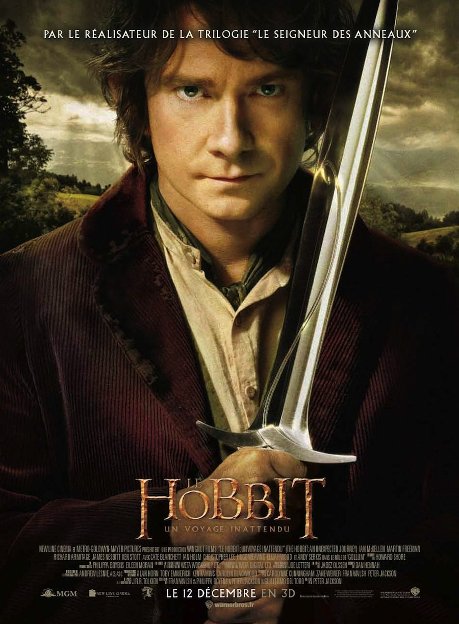 Hobbit voyage inattendu peter jackson