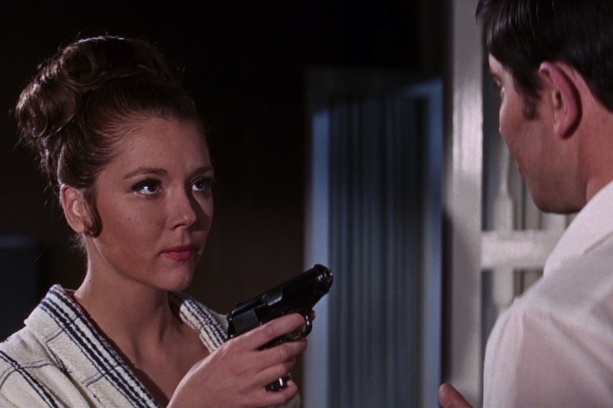 Au service secret de sa majeste hunt diana rigg