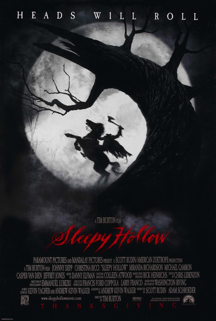 Sleepy hollow tim burton