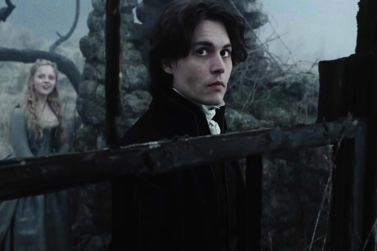 Tim burton sleepy hollow johnny depp