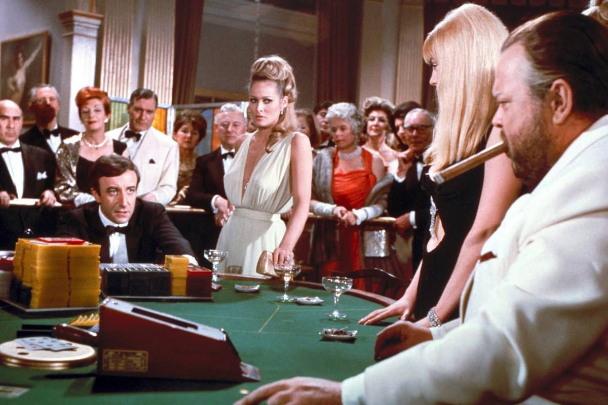 Casino royale peter sellers ursula andress