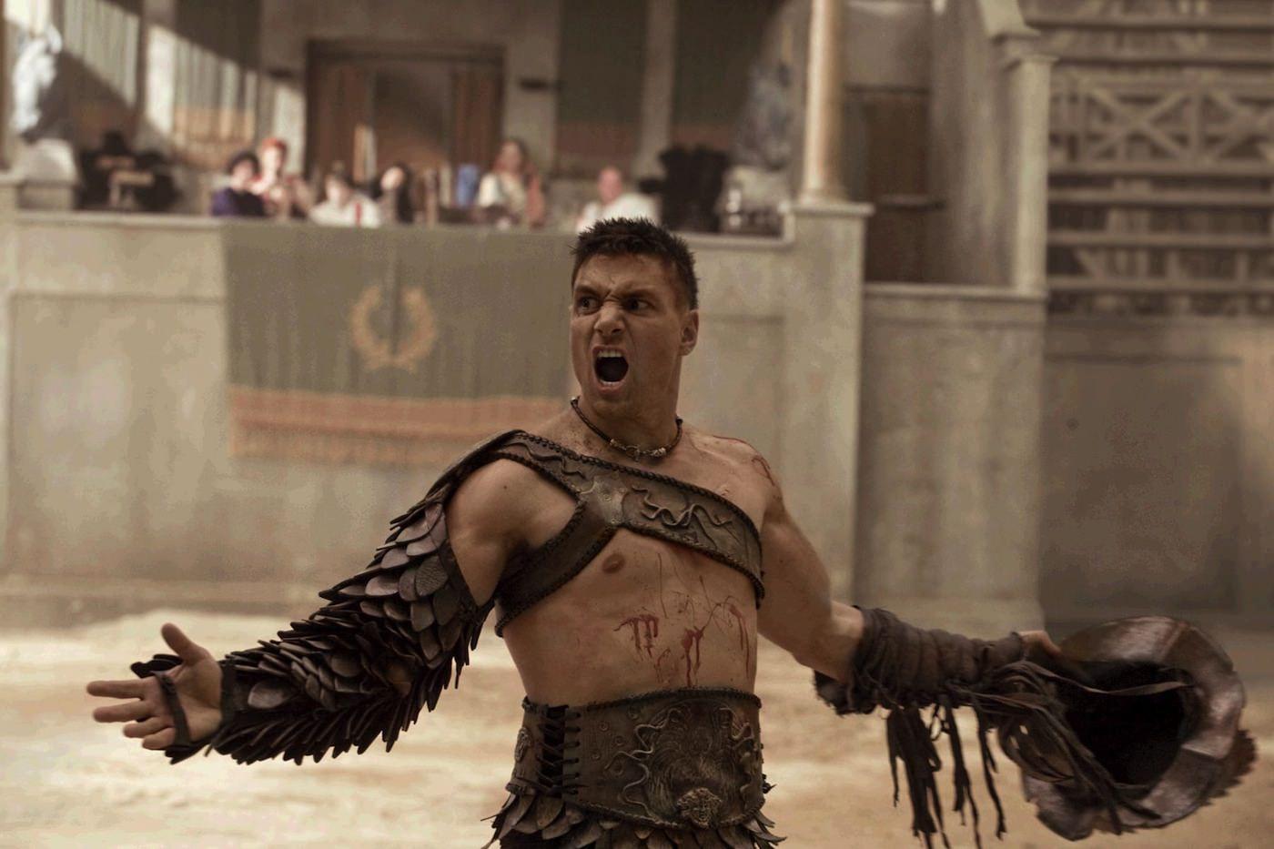 Spartacus manu bennett