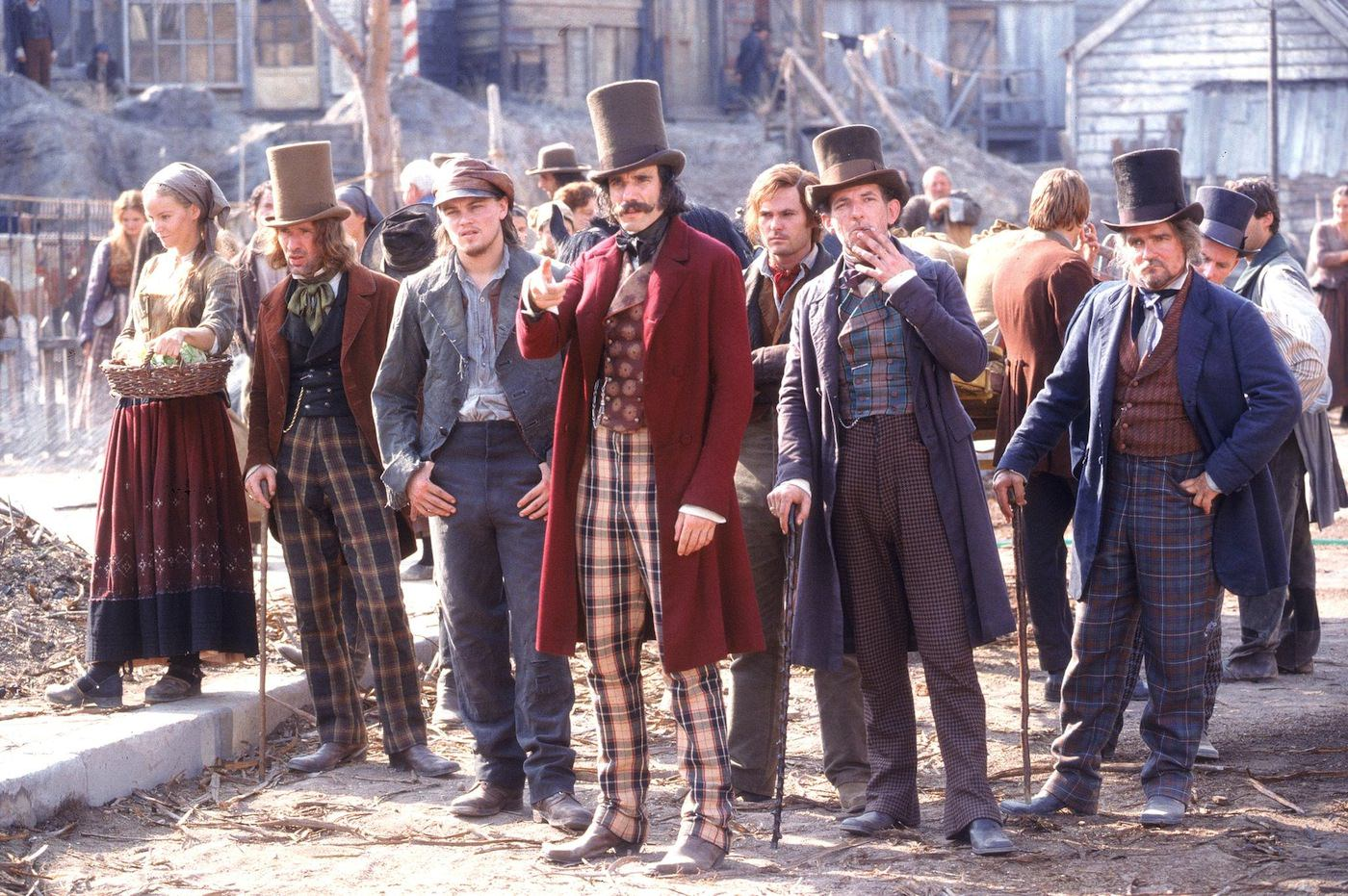 Gangs of new york daniel day lewis leonardo di caprio