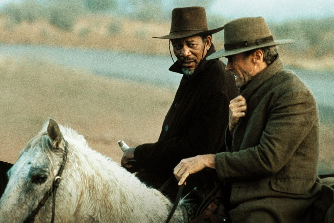 Impitoyable morgan freeman clint eastwood