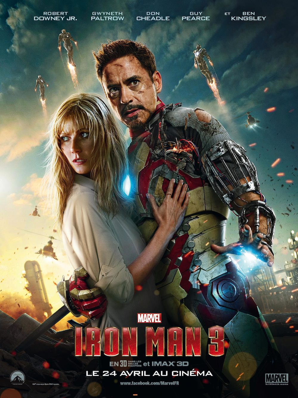 Iron man 3 shane black