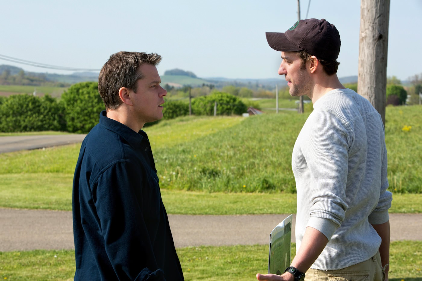 Promised land van sant matt damon john krasinski