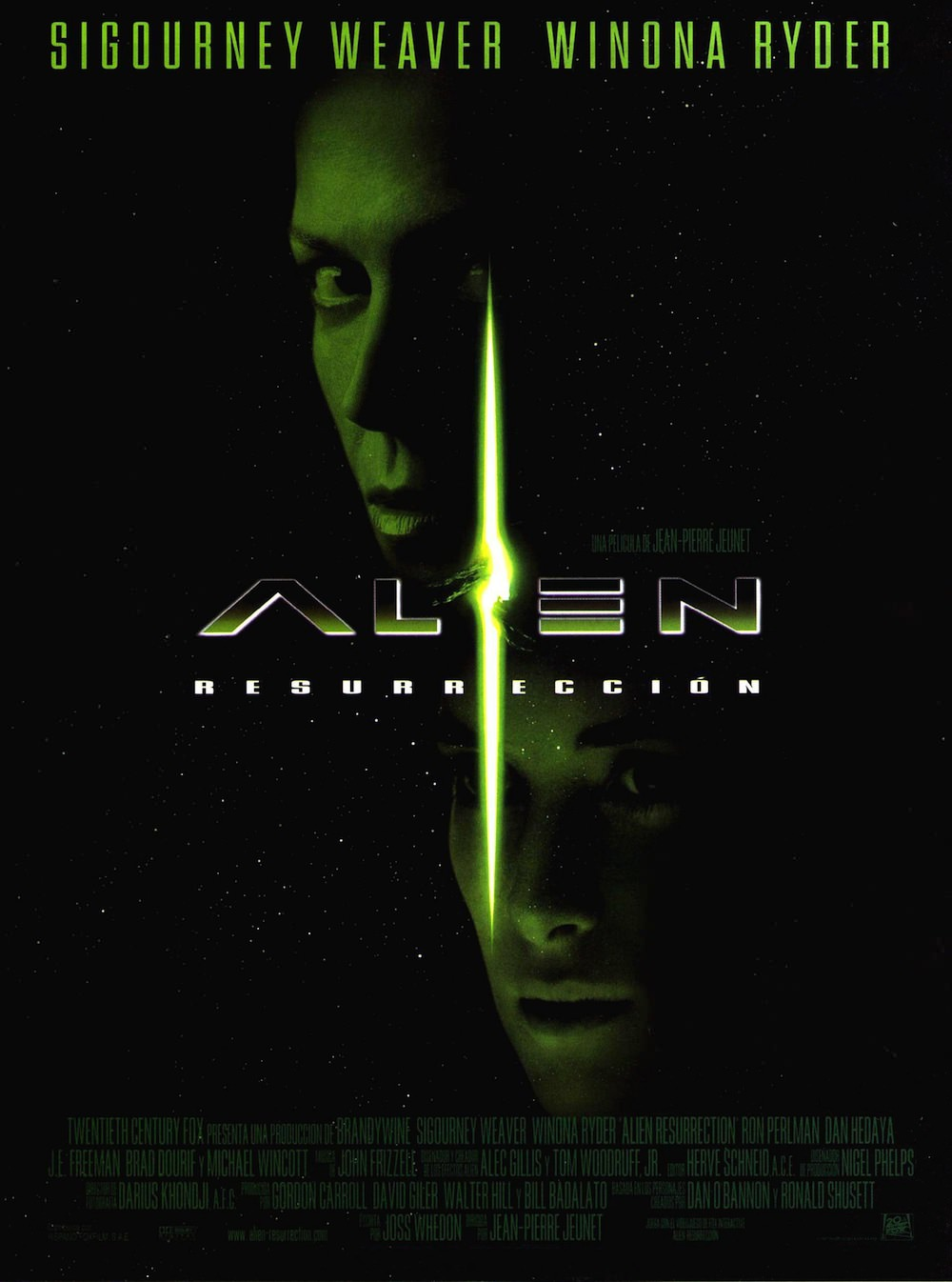 Alien la resurrection jean pierre jeunet