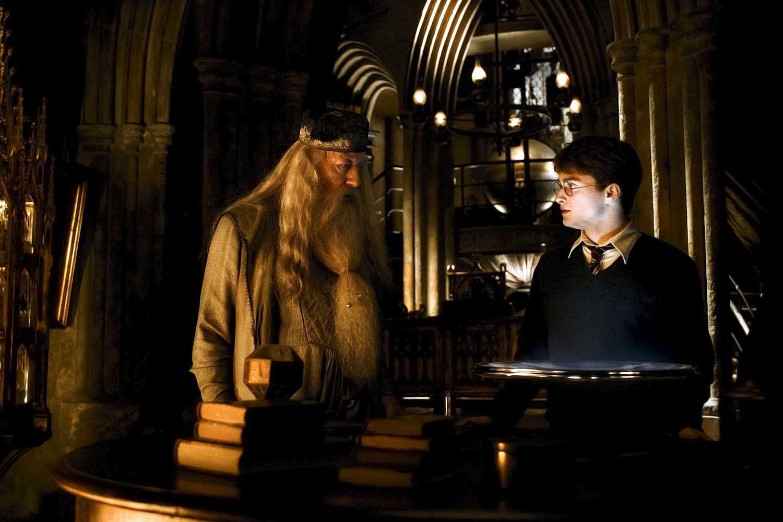 Harry potter et le prince de sang mele daniel radcliffe michael gambon