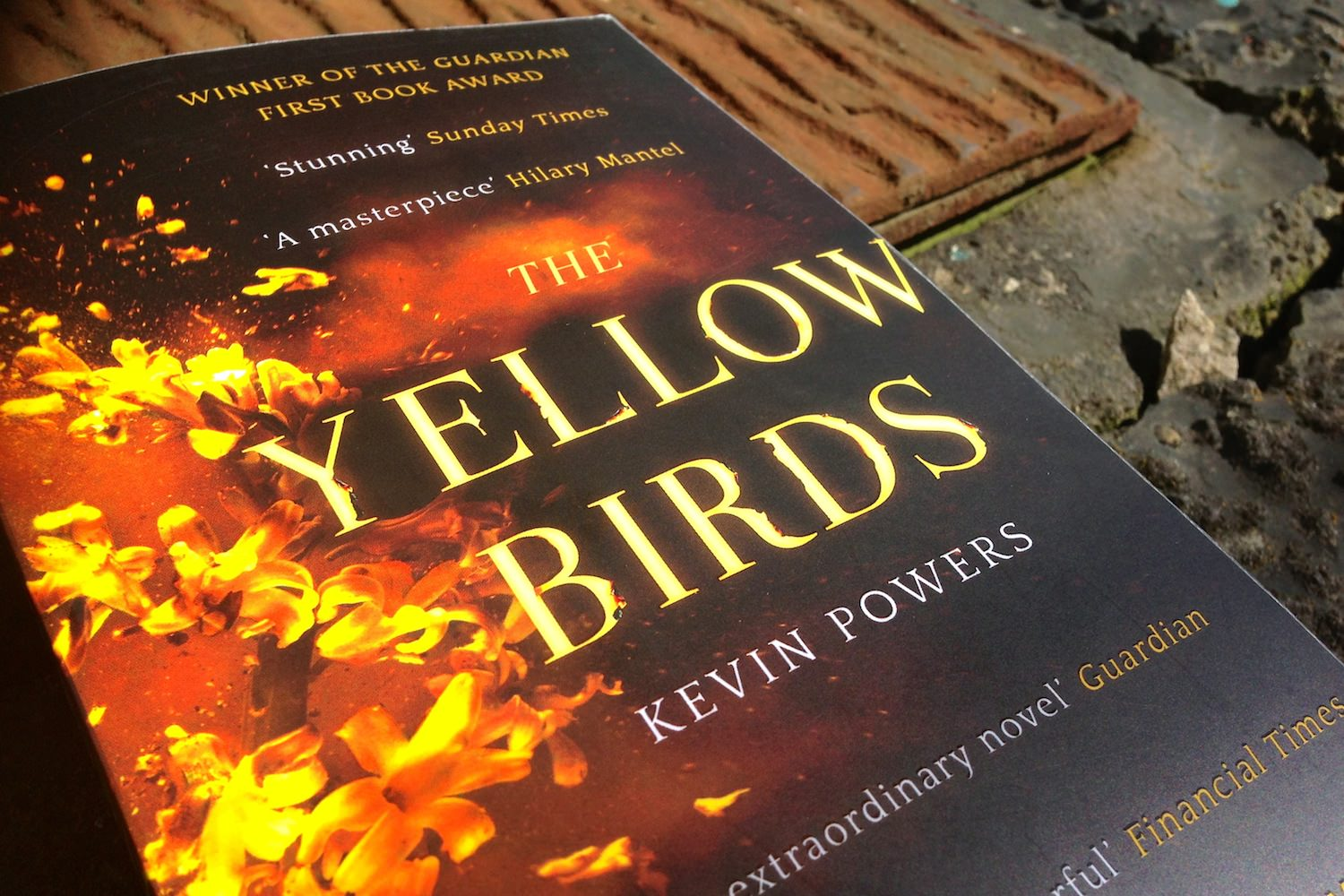 a review of the book the yellow birds by kevin powers Alan cheuse reviews kevin powers' first novel the yellow birds, which is based on his real life experience serving in iraq melissa block, host: writer kevin powers enlisted in the army at age 17 and served in iraq in 2004 and 2005.