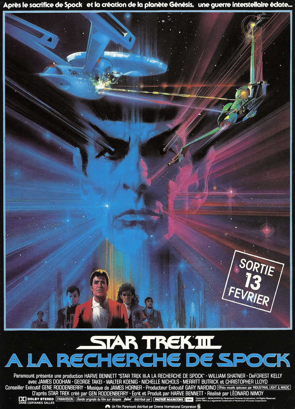 Star trek 3 a la recherche de spock leonard nimoy