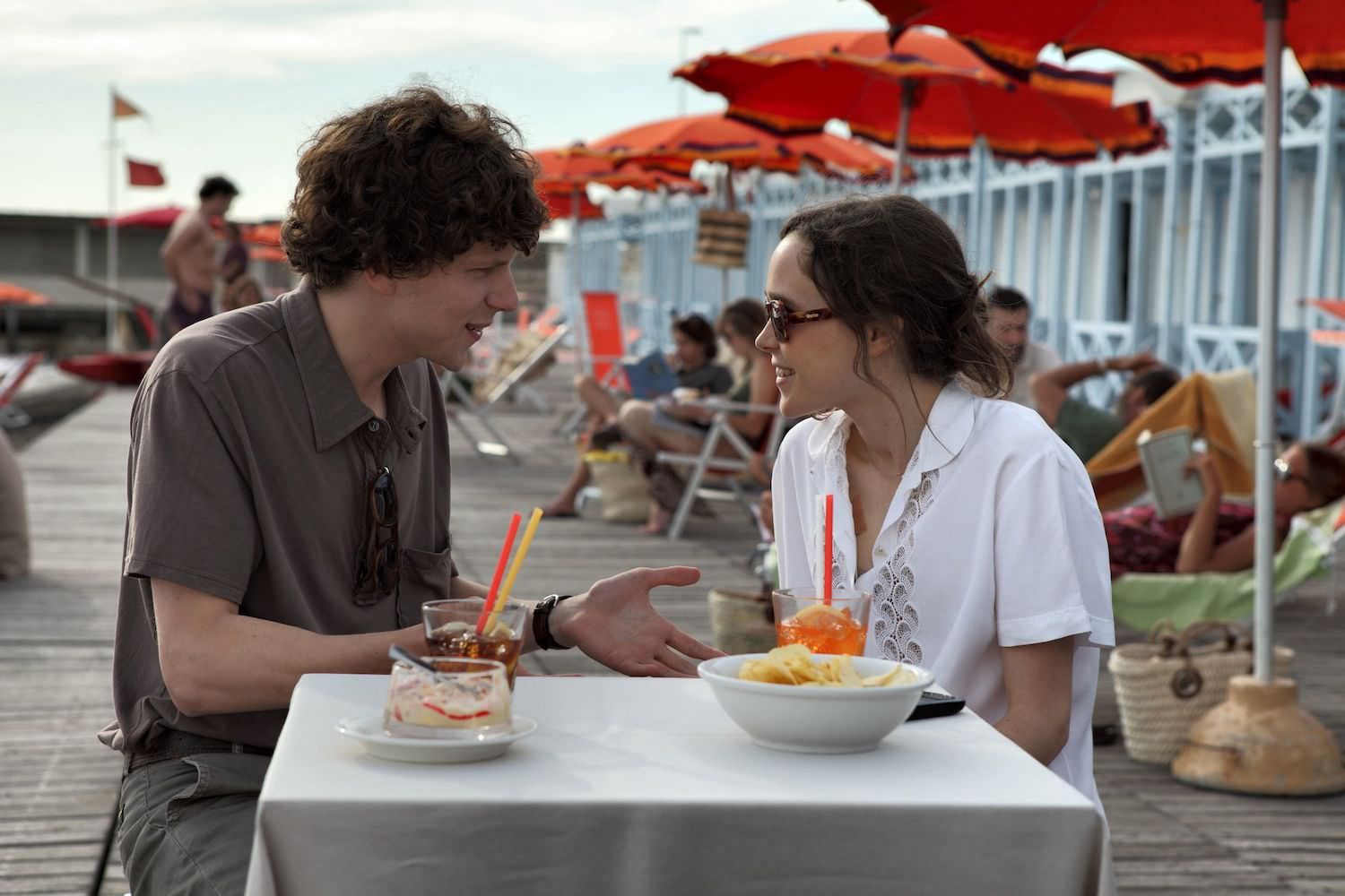 To rome with love jesse eisenberg ellen page