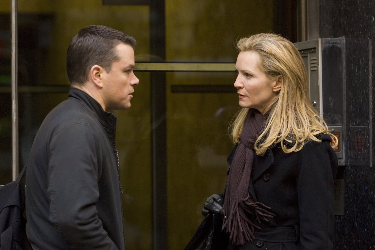 La vengeance dans la peau matt damon joan allen paul greengrass