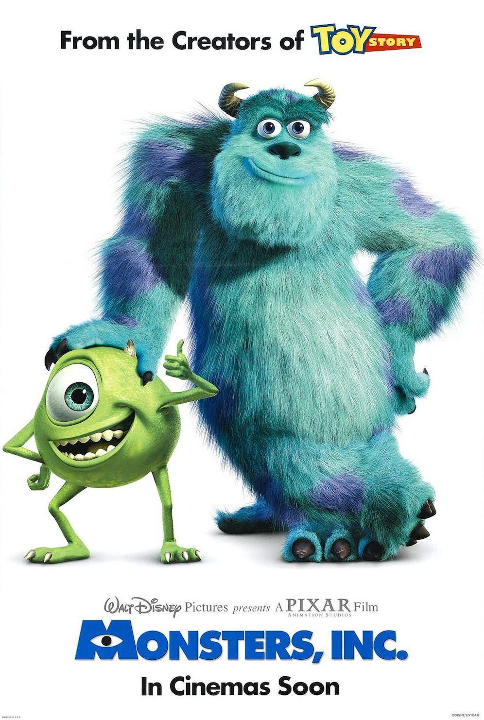 Monstres et cie docter pixar