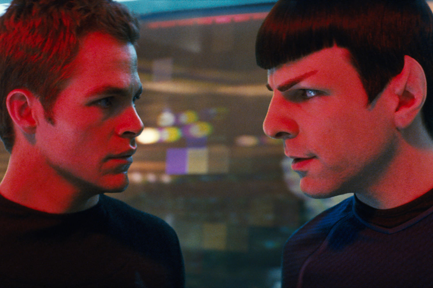 Star trek zachary quinto chris pine