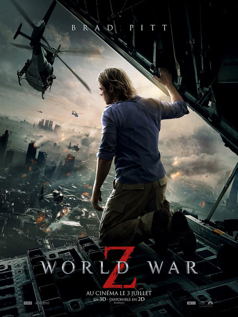 World war z brad pitt