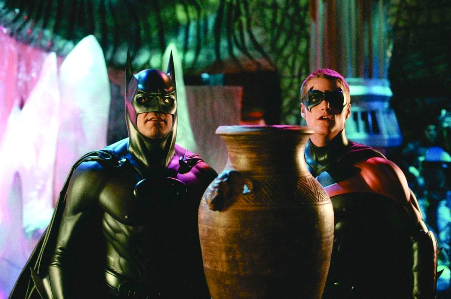 Batman robin george clooney chris o donnell