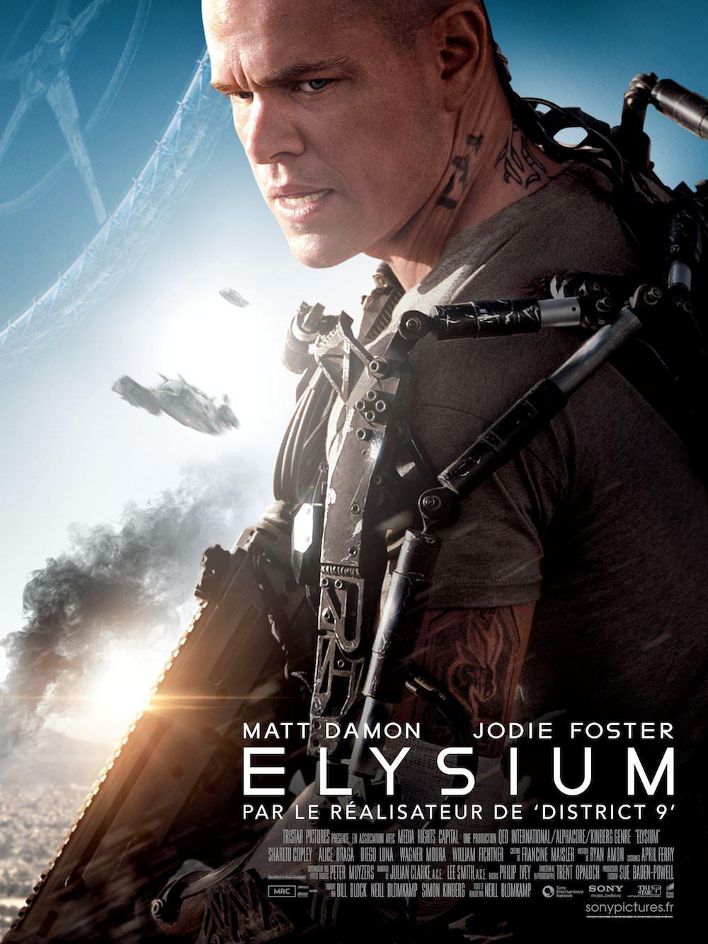 Elysium blomkamp